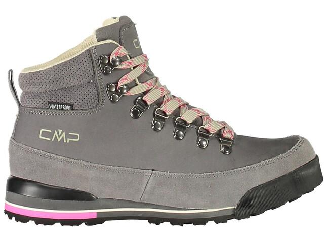 CMP Campagnolo Heka WP Hiking Shoes Dam graffite-strawberry